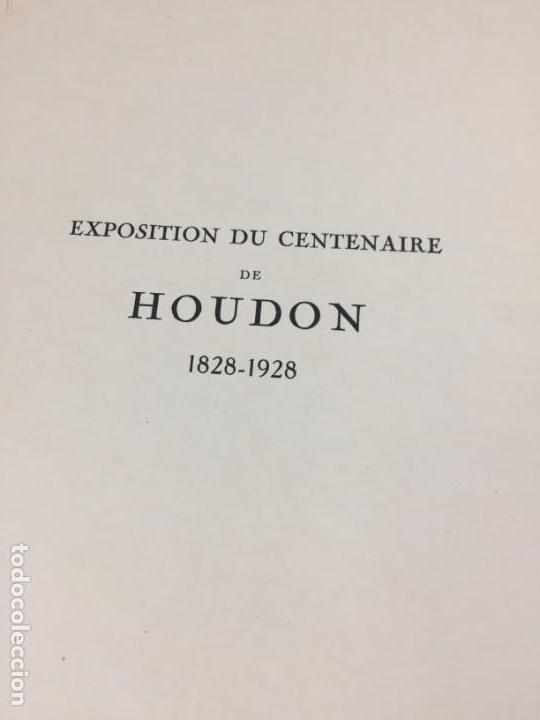 Libros antiguos: Escultura Exposition du centenaire de Houdon 1928 Galeries Buvelot en Francés. Ilustrado - Foto 11 - 159112370