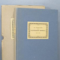 Libros antiguos: 1831-1931. IL CENTENARIO DELLA ASSICURAZIONI GENERALI. Lote 159147030