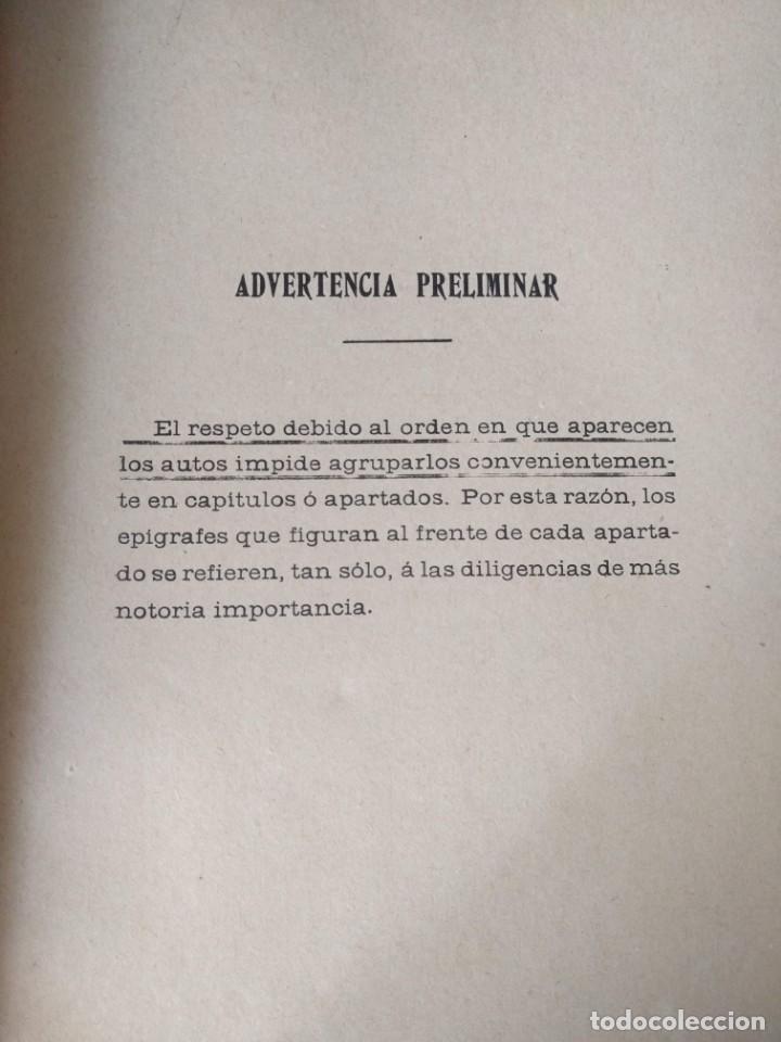 Libros antiguos: Causa por regicidio frustrado Mateo Morral, Francisco Ferrer, Nakens 1911 Atentado Alfonso XIII boda - Foto 4 - 159199486