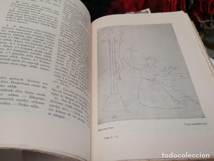 Libros antiguos: LITERATURA POPULAR DEL PAÍS VASCO. 1935. DE AZCUE. CUATRO TOMOS. - Foto 4 - 159238458