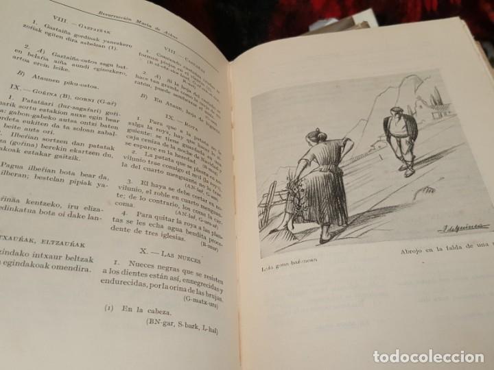 Libros antiguos: LITERATURA POPULAR DEL PAÍS VASCO. 1935. DE AZCUE. CUATRO TOMOS. - Foto 5 - 159238458