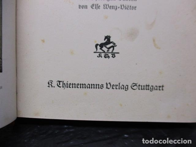 Libros antiguos: HINTER DEN LIEBEN BERGEN - (DETRÁS DE LOS AMANTES BERGEN) 1931 - WILHEM MATTHIEBEN - Foto 12 - 159270710