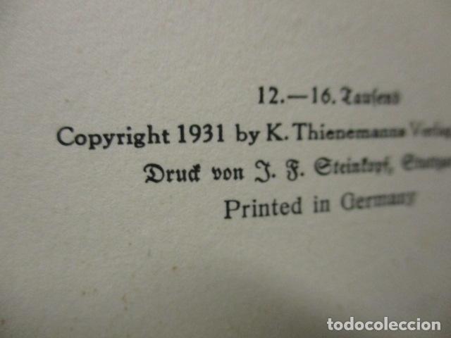 Libros antiguos: HINTER DEN LIEBEN BERGEN - (DETRÁS DE LOS AMANTES BERGEN) 1931 - WILHEM MATTHIEBEN - Foto 19 - 159270710