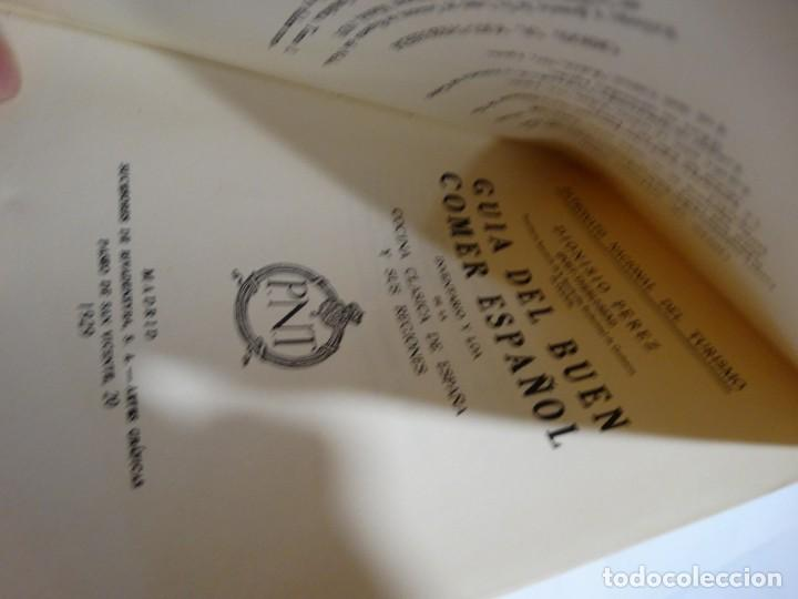 Libros antiguos: GUÍA DEL BUEN COMER ESPAÑOL. 1929. DIONISIO PÉREZ - Foto 4 - 159365722