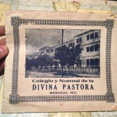 Libros antiguos: ANTIGUA CURIOSA REVISTA COLEGIO Y NORMAL DE LA DIVINA PASTORA MANAGUA NIC AÑO 1948. Lote 159448734