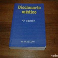 Libros antiguos: DICCIONARIO MÉDICO ELSEVIER, 4ª EDICIÓN VER FOTOS . Lote 159512198