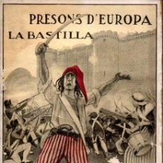 Libros antiguos: PRESONS D' EUROPA : LA BASTILLA (ANTONI LÓPEZ, S.F.). Lote 159533854