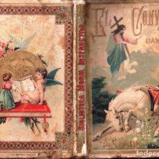 Libros antiguos: P. BERTHE : EL CONVERSO DE DAMASCO (CALLEJA, 1876). Lote 159540518