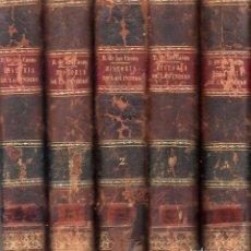 Libros antiguos: HISTORIA DE LAS INDIAS. FRAY BARTOLOME DE LAS CASAS. OBRA EN 5 TOMOS. 1875. VER FOTOS.. Lote 159631882
