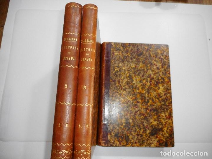 Libros antiguos: PADRE MARIANA Historia General de España (3 Tomos) Y93542 - Foto 2 - 159637226