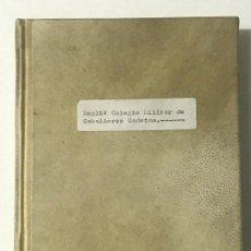 Libros antiguos: SEGOVIA. REGLAMENTO DE NUEVA CONSTITUCIÓN EN EL COLEGIO MILITAR DE CABALLEROS CADETES DEL REAL CUERP. Lote 159701814