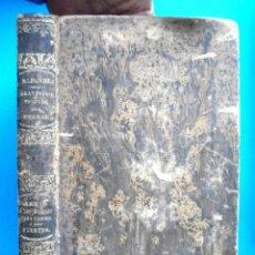 Libros antiguos: LAS CRIATURAS. GRANDIOSO TRATADO DEL HOMBRE RAIMUNDO SABUNDE 1854 + TRATADO ARMAS A LOS DÉBILES PARA. Lote 159832370