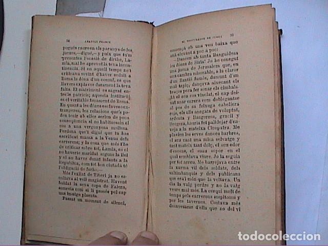 Libros antiguos: ANATOLI FRANCE. CONTES Y NARRACIONS.1907. BIBLIOTECA EL POBLE CATALÀ. - Foto 3 - 159853626