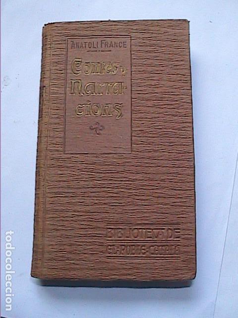 ANATOLI FRANCE. CONTES Y NARRACIONS.1907. BIBLIOTECA EL POBLE CATALÀ. (Libros Antiguos, Raros y Curiosos - Literatura - Otros)