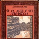 Libros antiguos: JAVIER OLONDRIZ : EL AGUA Y SUS MARAVILLAS (MUNTAÑOLA, 1922). Lote 159883938