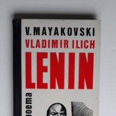 Libros antiguos: 'LENIN' DE VLADIMIR MAYAKOVSKI. Lote 159905358