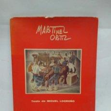 Libros antiguos: CATÁLOGO DE ARTE - PANORAMA DE LA PINTURA CONTEMPORANEA - MARTINEZ ORTIZ/ N-8393. Lote 159938842