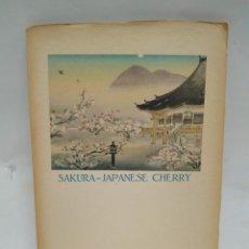 Libros antiguos: LIBRO - SAKURA-JAPANESE CHERRY - TOURIST LIBRARY: 3 / N-8523. Lote 160080142