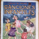 Libros antiguos: CANCIONES INFANTILES (LIBROS DE PREMIO SOPENA, S.F.) ILUSTRADO POR LLAVERÍAS. Lote 160154690