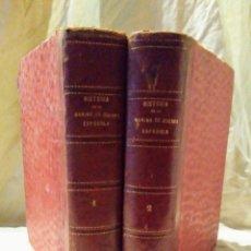 Libros antiguos: HISTORIA DE LA MARINA DE GUERRA ESPAÑOLA - AÑO 1886 - ORELLANA - BELLOS GRABADOS.. Lote 160176318