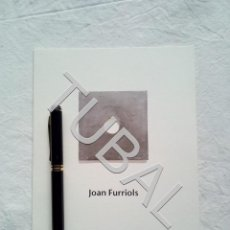 Libros antiguos: TUBAL JOAN FURRIOLS VIC EXPOSICION 1995. Lote 160177378