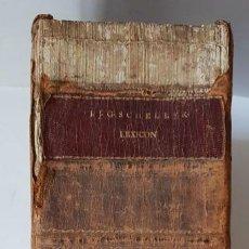 Libros antiguos: LEXICON HOLANDÉS DEL 1799, DE LA EDITORIAL LUCHTMANS, AUTOR I.J.G. SCHELLERI, 1.760 PÁGINAS.. Lote 160183946
