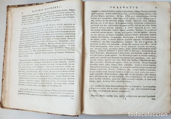 Libros antiguos: Lexicon holandés del 1799, de la editorial Luchtmans, autor I.J.G. Schelleri, 1.760 páginas. - Foto 5 - 160183946