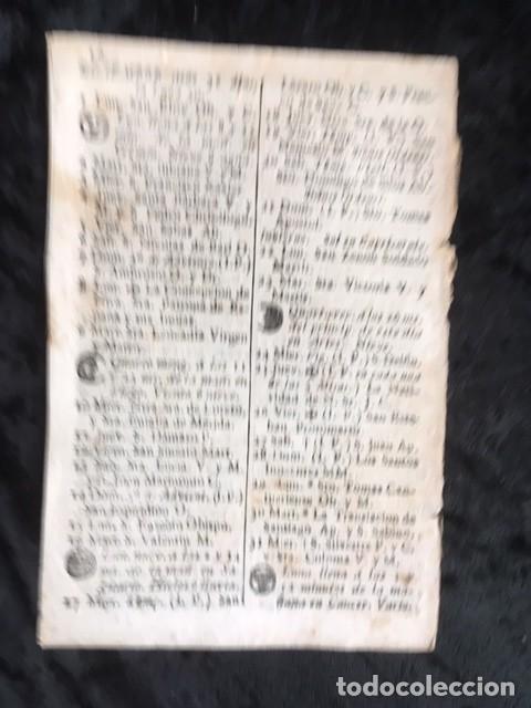 Libros antiguos: CALENDARIO PARA EL PRINCIPADO DE CATALUÑA DEL AÑO DE 1800 - IMPRENTA TORRES Y BRUGADA - Foto 2 - 160185062