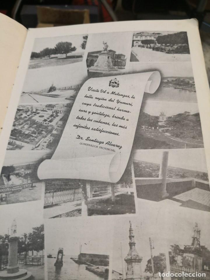 Libros antiguos: Raro y difícil libro de ver año 1942 MATANZAS CONTEMPORÁNEAS GUIA PROVINCIAL. CUBA - Foto 3 - 160193726