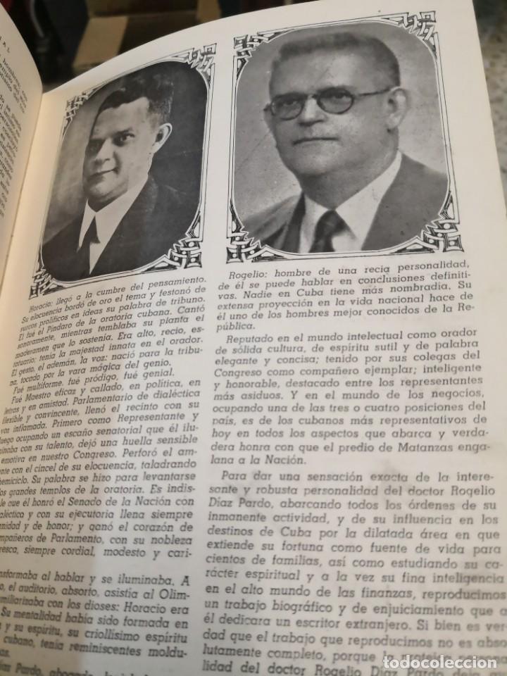 Libros antiguos: Raro y difícil libro de ver año 1942 MATANZAS CONTEMPORÁNEAS GUIA PROVINCIAL. CUBA - Foto 12 - 160193726