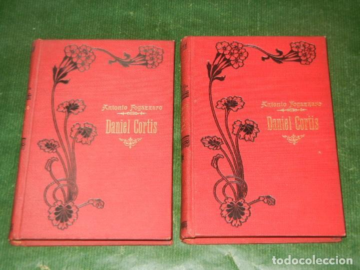 DANIEL CORTIS, DE ANTONIO FOGAZZARO - (2 VOLUMENES) - ED.MAUCCI 1911 (Libros antiguos (hasta 1936), raros y curiosos - Literatura - Narrativa - Otros)