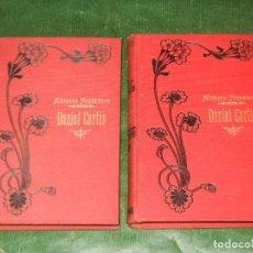 Libros antiguos: DANIEL CORTIS, DE ANTONIO FOGAZZARO - (2 VOLUMENES) - ED.MAUCCI 1911. Lote 160261906