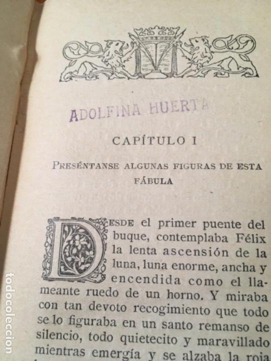 Libros antiguos: LAS CEREZAS DEL CEMENTERIO - GABRIEL MIRÓ - PRIMERA EDICIÓN 1910 - Foto 4 - 160268042