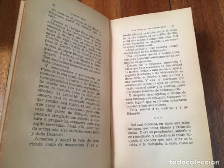 Libros antiguos: LAS CEREZAS DEL CEMENTERIO - GABRIEL MIRÓ - PRIMERA EDICIÓN 1910 - Foto 5 - 160268042
