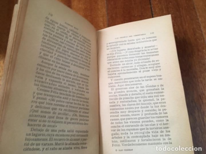 Libros antiguos: LAS CEREZAS DEL CEMENTERIO - GABRIEL MIRÓ - PRIMERA EDICIÓN 1910 - Foto 6 - 160268042