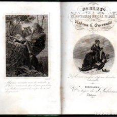 Libros antiguos: GUERMANTE : ROBERTO O EL RECUERDO DE UNA MADRE (SUBIRANA, 1863). Lote 160281646
