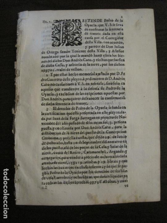 PLIEGO-MADRID VALLADOLID-SIGLO XVIII-VER FOTOS-(V-16.370) (Libros Antiguos, Raros y Curiosos - Historia - Otros)