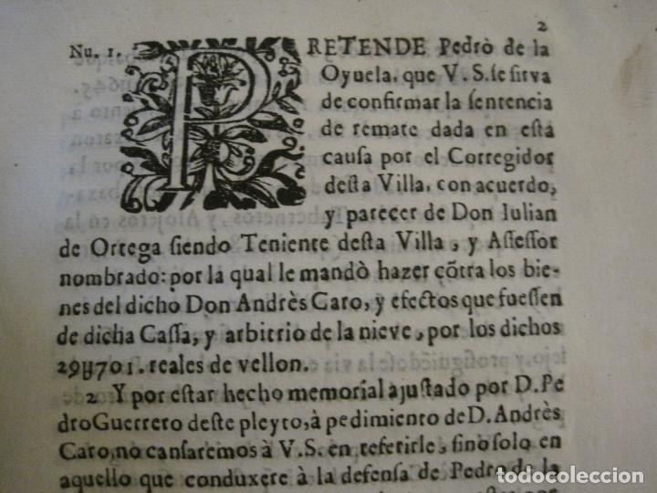 Libros antiguos: PLIEGO-MADRID VALLADOLID-SIGLO XVIII-VER FOTOS-(V-16.370) - Foto 2 - 160299966