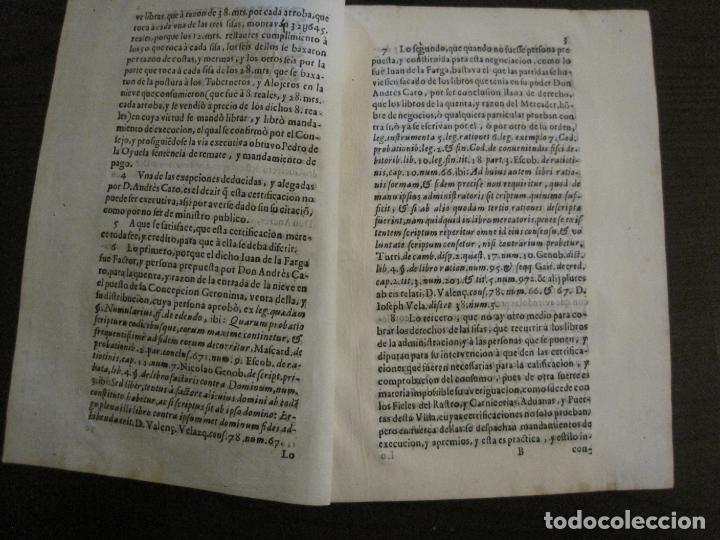 Libros antiguos: PLIEGO-MADRID VALLADOLID-SIGLO XVIII-VER FOTOS-(V-16.370) - Foto 3 - 160299966