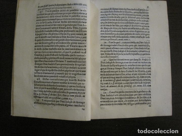 Libros antiguos: PLIEGO-MADRID VALLADOLID-SIGLO XVIII-VER FOTOS-(V-16.370) - Foto 4 - 160299966