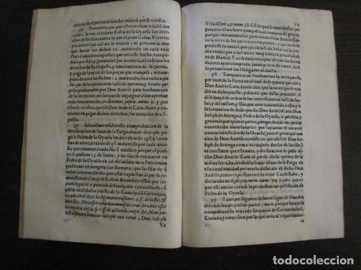 Libros antiguos: PLIEGO-MADRID VALLADOLID-SIGLO XVIII-VER FOTOS-(V-16.370) - Foto 5 - 160299966
