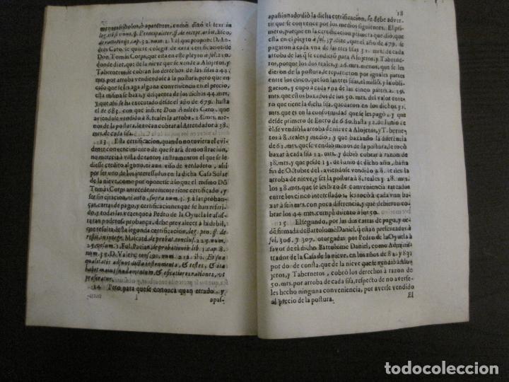 Libros antiguos: PLIEGO-MADRID VALLADOLID-SIGLO XVIII-VER FOTOS-(V-16.370) - Foto 7 - 160299966