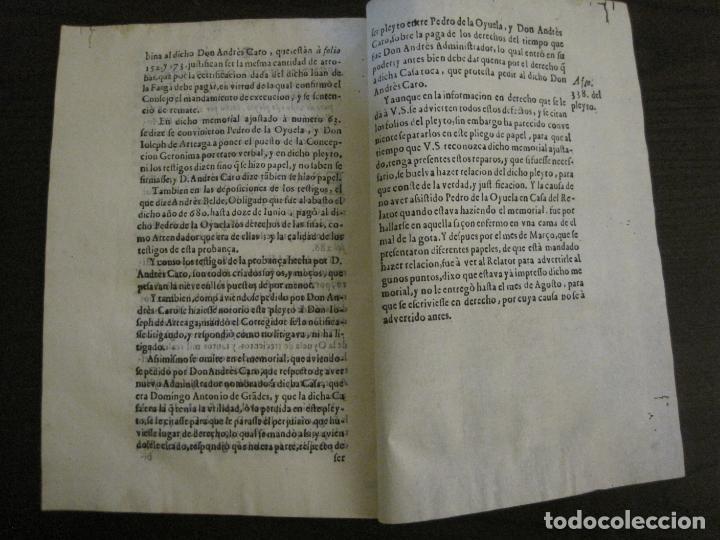 Libros antiguos: PLIEGO-MADRID VALLADOLID-SIGLO XVIII-VER FOTOS-(V-16.370) - Foto 8 - 160299966