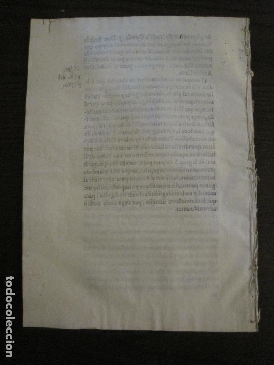 Libros antiguos: PLIEGO-MADRID VALLADOLID-SIGLO XVIII-VER FOTOS-(V-16.370) - Foto 9 - 160299966