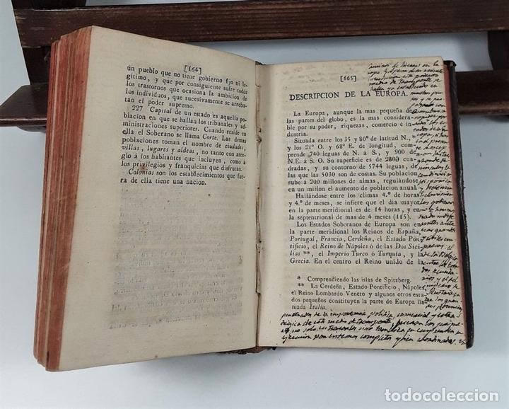 Libros antiguos: PRINCIPIOS DE GEOGRAFÍA ASTRONÓMICA, FÍSICA Y POLÍTICA. IMP. DE REPULLÉS. 1832. - Foto 5 - 160329990