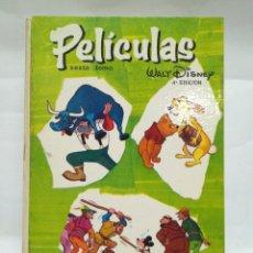 Alte Bücher - LIBRO - PELICULAS - SEXTO TOMO - WALT DISNEY - 4A EDICIÓN - JOVIAL / N-8626 - 160336050
