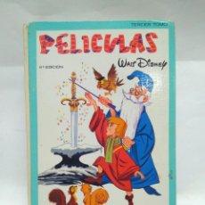 Alte Bücher - LIBRO - PELICULAS - TERCER TOMO - WALT DISNEY - 6A EDICIÓN - JOVIAL / N-8628 - 160336278