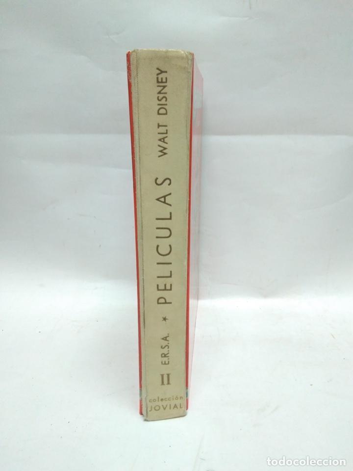 Libros antiguos: LIBRO - PELICULAS - SEGUNDO TOMO - WALT DISNEY - 6A EDICIÓN - JOVIAL / N-8629 - Foto 2 - 160336446