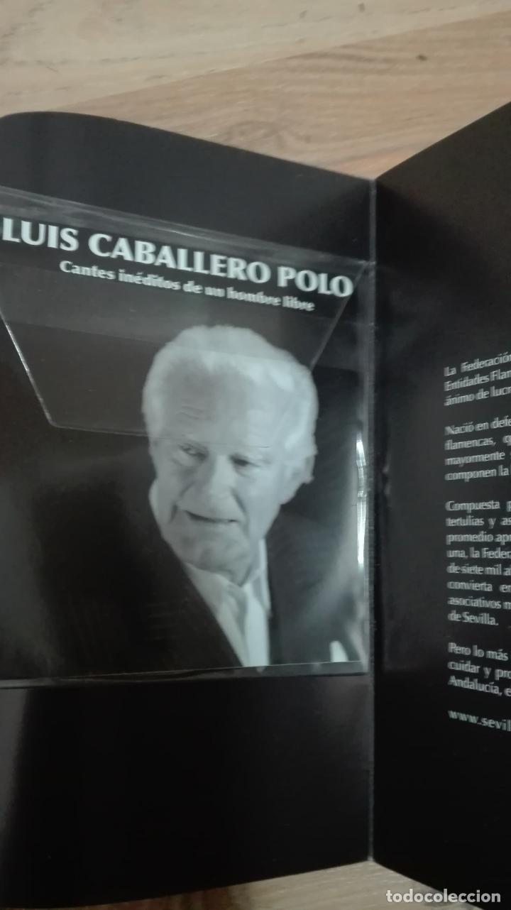 Libros antiguos: luis caballero polo -¿somos o no andaluces ? contiene cd - Foto 2 - 160343218