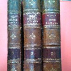 Libros antiguos: SUMARIO DE LAS EXPLICACIONES DEL PROFESOR DE LA ASIGNATURA DE DERECHO ROMANO C DE LA R 1900. Lote 160351166